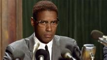 Denzel Washington protagoniza la película 'Malcolm X'