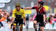 Imágen oficial del Tour de Francia