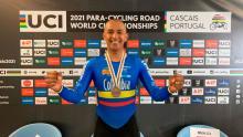 Camino a Tokio: Diego Dueñas, un ejemplo de vida en ciclismo paralímpico colombiano