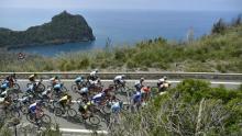 Pelotón del Giro de Italia durante la etapa 8 / Giro oficial