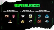 Equipos, calendario y fixture MSI 2021 de League of Legends
