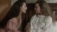 """Amparos Grisales y Margarita Rosa en """"Los pecados de Inés de Hinojosa"""""""