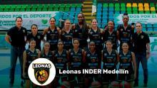 Leonas Inder Medellín son las campeonas de la Liga Superior de Baloncesto Femenino 2020
