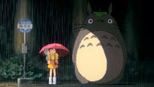 Imagen de la película 'Mi vecino Totoro'