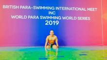 La entrevista de Goga en Señal Deportes al nadador Nelson Crispín