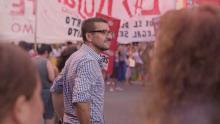 """Mario Riorda, presentador de la serie """"En el nombre del pueblo"""""""
