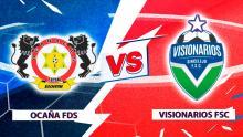 Mira en vivo el duelo de Ocaña FDS Vs. Visionarios FSC por la Superliga de Microfútbol 2020