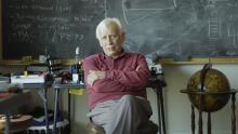 Imagen del documental Llinás, el cerebro y el universo.