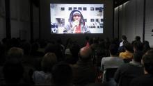 Pre estreno de la película Modelo Estéreo, en la cárcel Modelo de Bogotá.