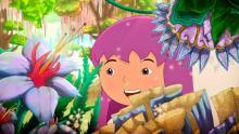 """Lila, personaje principal de la película """"El libro de Lila"""""""