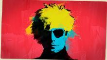 Ilustración de Andy Warhol