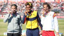 Así entrena la atleta colombiana Valeria Cabezas en tiempos de pandemia