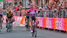 Elia Viviani, ganador etapa 13 del Giro de Italia / Iria Calvo