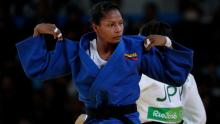 La judoca Yuri Alvear quiere ganar la medalla de oro en los Juegos Olímpicos de Tokio 2020.