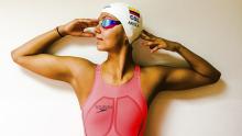Isabella Arcila, nadadora colombiana / Facebook Isabella Arcila