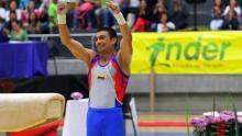 El Giraldo ya es un elemento oficial de la gimnasia mundial / Inder de Medellín