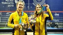 Laura Tovar dejó de lado su amistad para ser campeona nacional / Federación Colombiana de Squash
