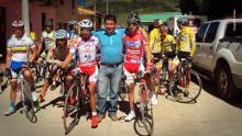 Los primeros entrenamientos de Nairo Quintana con su amigo Cayetano Sarmiento.