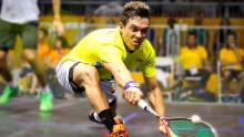Miguel Ángel Rodríguez, squashita colombiano.