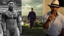 Imagen de las cintas: 'El abrazo de la serpiente', 'Violencia' y 'La tierra y la sombra'