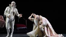 Cantantes de ópera en acción