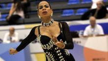 Viviana Osorio, patinadora artística colombiana / Coldeportes