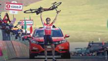 Tim Wellens, al ganar una etapa en el Giro de Italia / Giro de Italia oficial