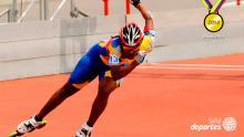 Jercy Puello, la mujer más veloz sobre ruedas