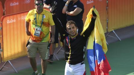 Él es Carlos Ramírez 'El Mago del BMX' en Colombia