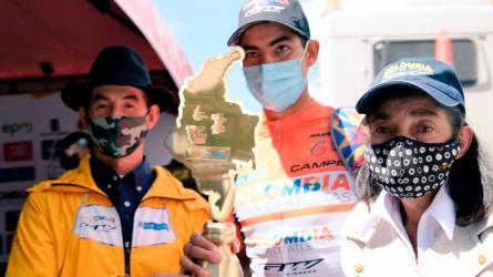 Diego Camargo, promesa y futuro del ciclismo colombiano