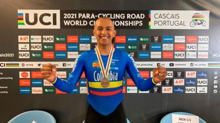 Camino a Tokio: Diego Dueñas, un ejemplo de vida en ciclismo paralímpico