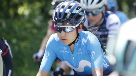 La historia y la carrera de la ciclista Paula Patiño
