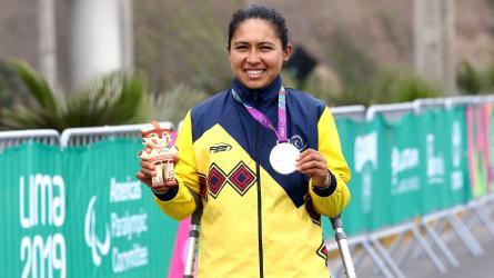 Camino a Tokio: Carolina Munévar, campeona mundial de paracycling de la UCI