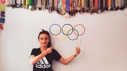 Sandra Arenas, la marchista de oro