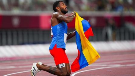 Fotos de los deportistas colombianos en Tokio 2020