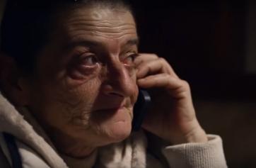 """Fotograma de la protagonista documental """"Una mujer atrapada""""."""