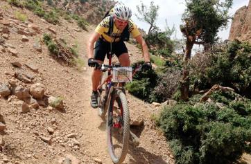 Juan Salinas, el ciclista que recorrió 1.500 kilómetros alrededor de Andalucía / Twitter Juan de Salinas