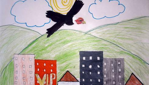 Así dibujaron los niños de Colombia sus paisajes