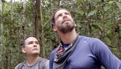 """3 citadinos descubren la selva en """"Cruzando el Amazonas"""""""