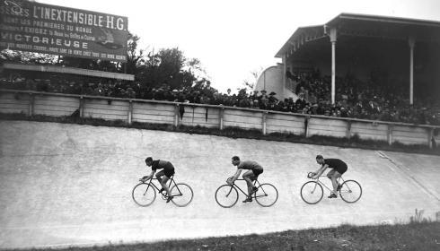 La historia del ciclismo de pista