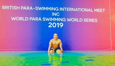 Un gigante de la natación paralímpica