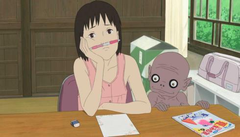 """""""Una carta para Momo"""", el duelo en el anime"""