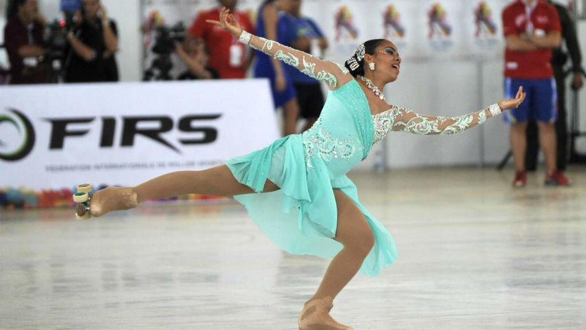 Viviana Osorio, patinadora artística colombiana.