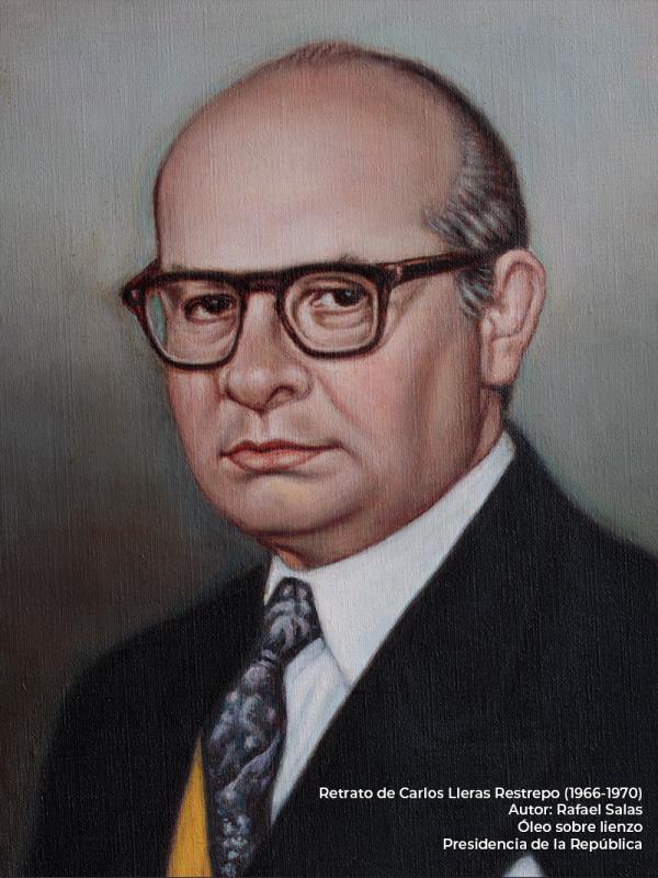 Carlos Lleras Restrepo. Rafael Salas (s.f.)