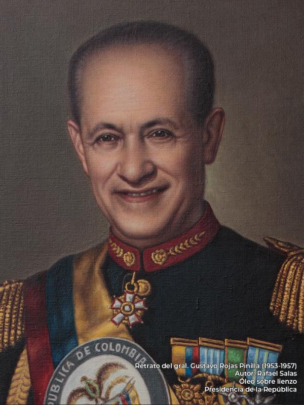 Gustavo Rojas Pinilla. Rafael Salas (s.f.)