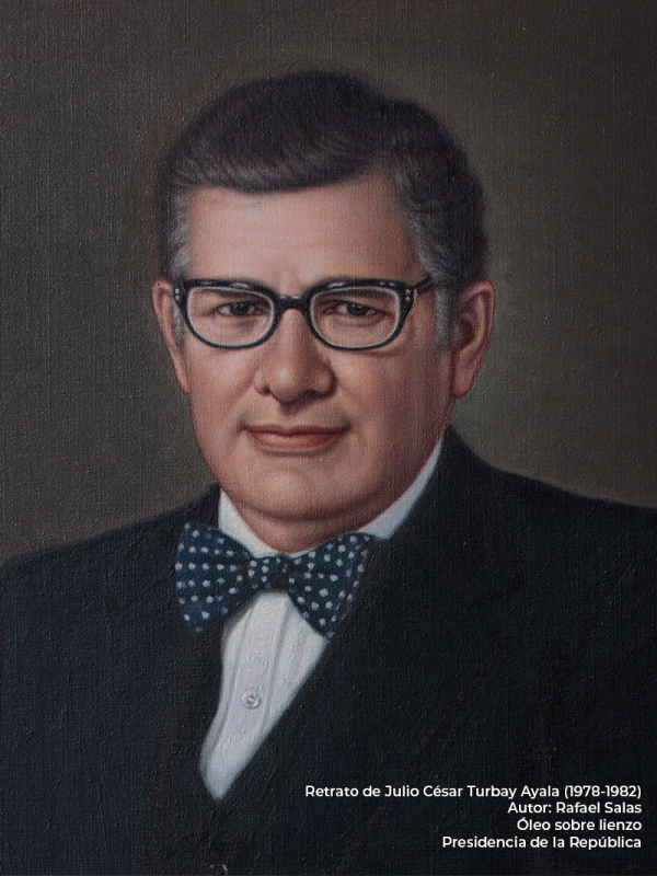 Julio César Turbay. Rafael Salas (s.f.)