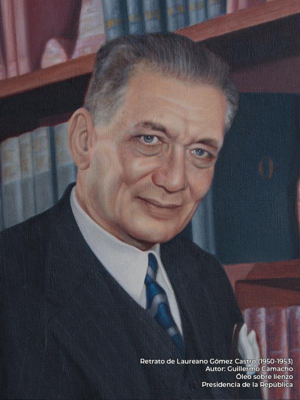 Laureano Gómez Castro. Guillermo Camacho (s.f.)
