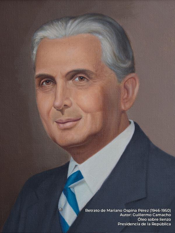 Mariano Ospina Pérez. Guillermo Camacho (s.f)