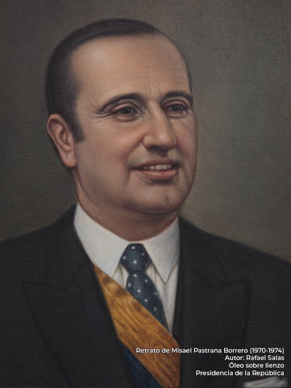 Misael Pastrana Borrero. Rafael Salas (s.f.)