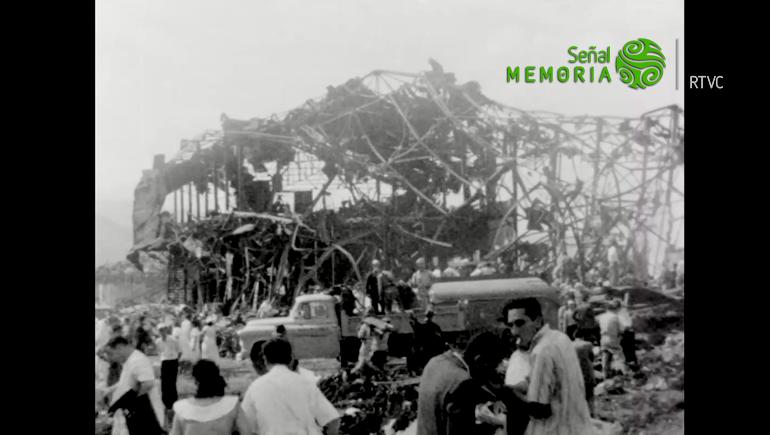 Explosión en cali 1956